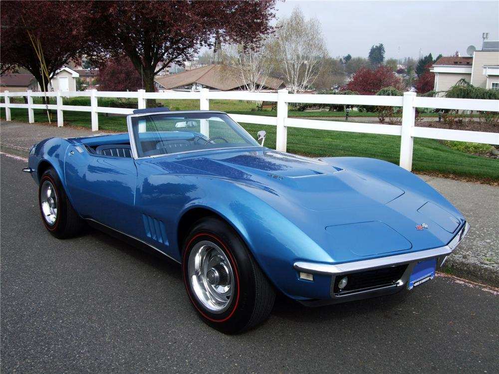 1968 chevrolet corvette convertible 154067. Black Bedroom Furniture Sets. Home Design Ideas