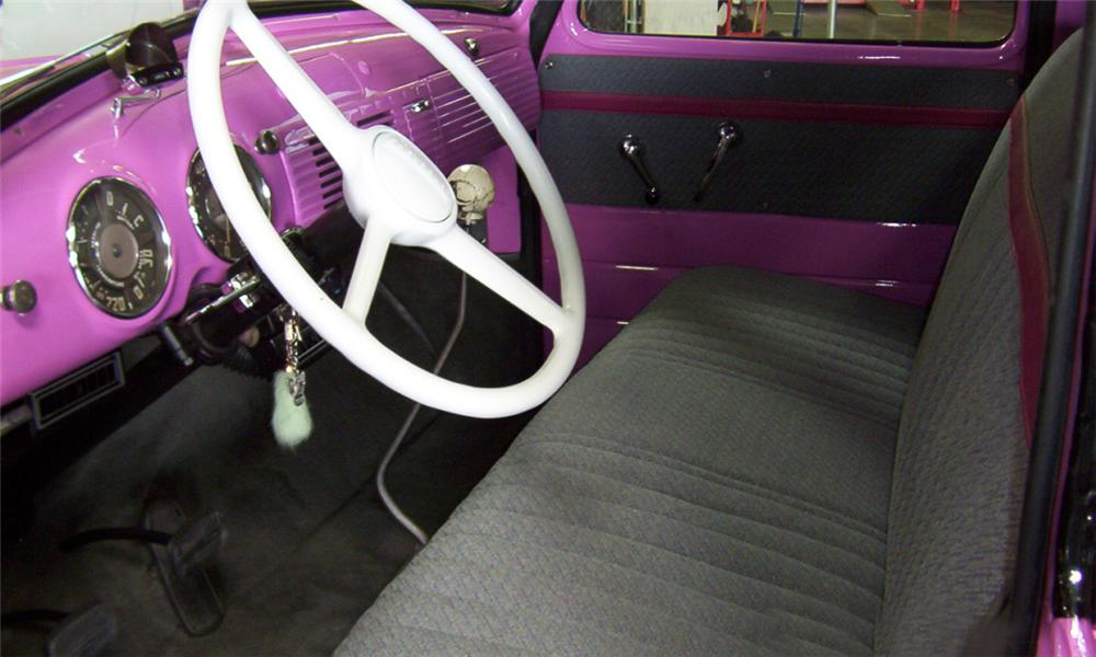 1950 CHEVROLET 3100 PICKUP - Interior - 15407
