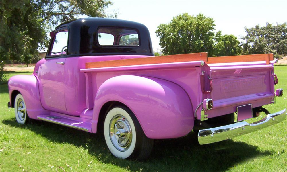 1950 CHEVROLET 3100 PICKUP - Rear 3/4 - 15407