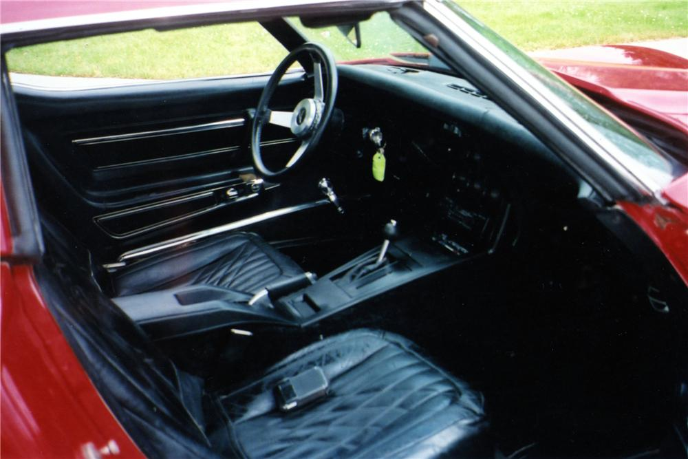 1977 CHEVROLET CORVETTE 2 DOOR COUPE - Interior - 154070