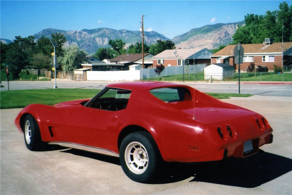 1977 CHEVROLET CORVETTE 2 DOOR COUPE - Rear 3/4 - 154070