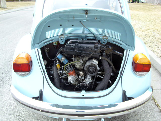 1973 VOLKSWAGEN SUPER BEETLE 2 DOOR SEDAN - 154074