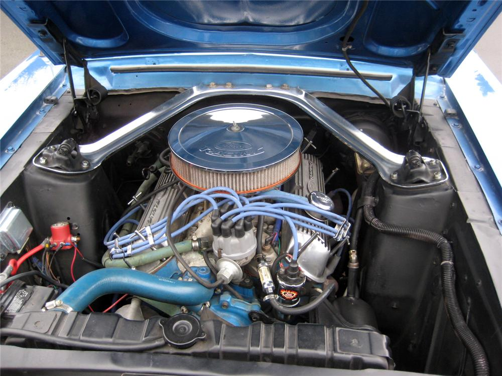 1968 FORD MUSTANG COUPE - Engine - 154084
