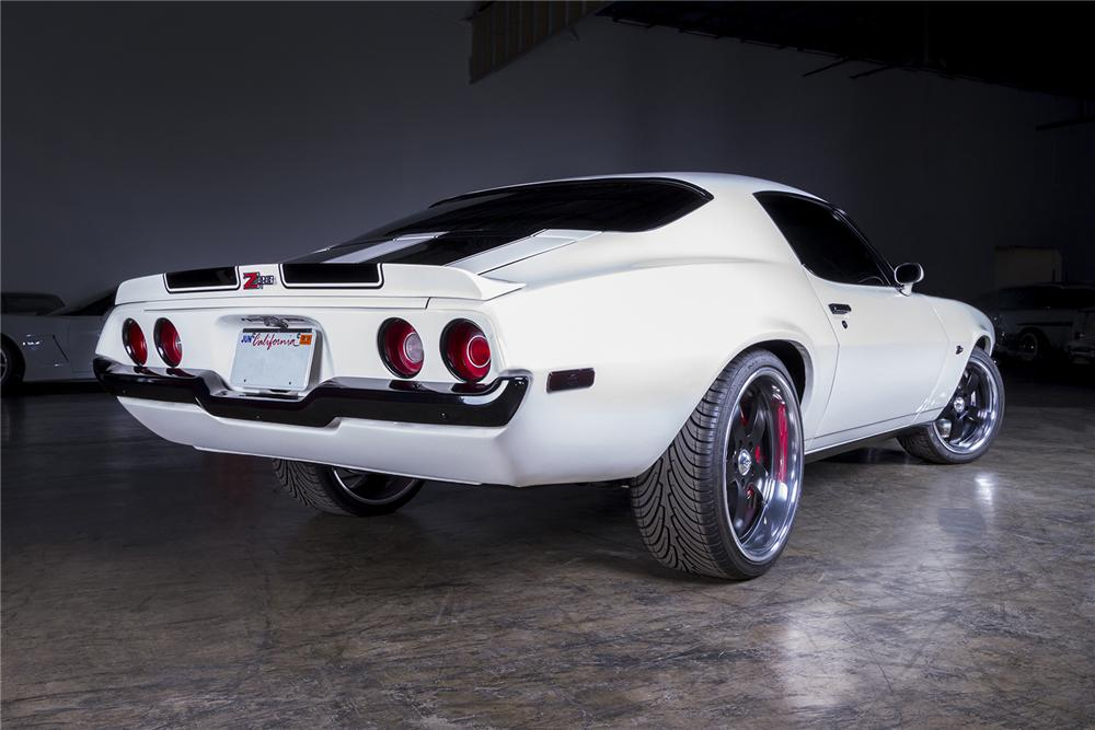 1970 Chevrolet Camaro Custom 2 Door Coupe 154089