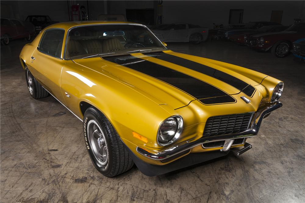 1971 chevrolet camaro z 28 2 door coupe 154092 for Placer motors used cars