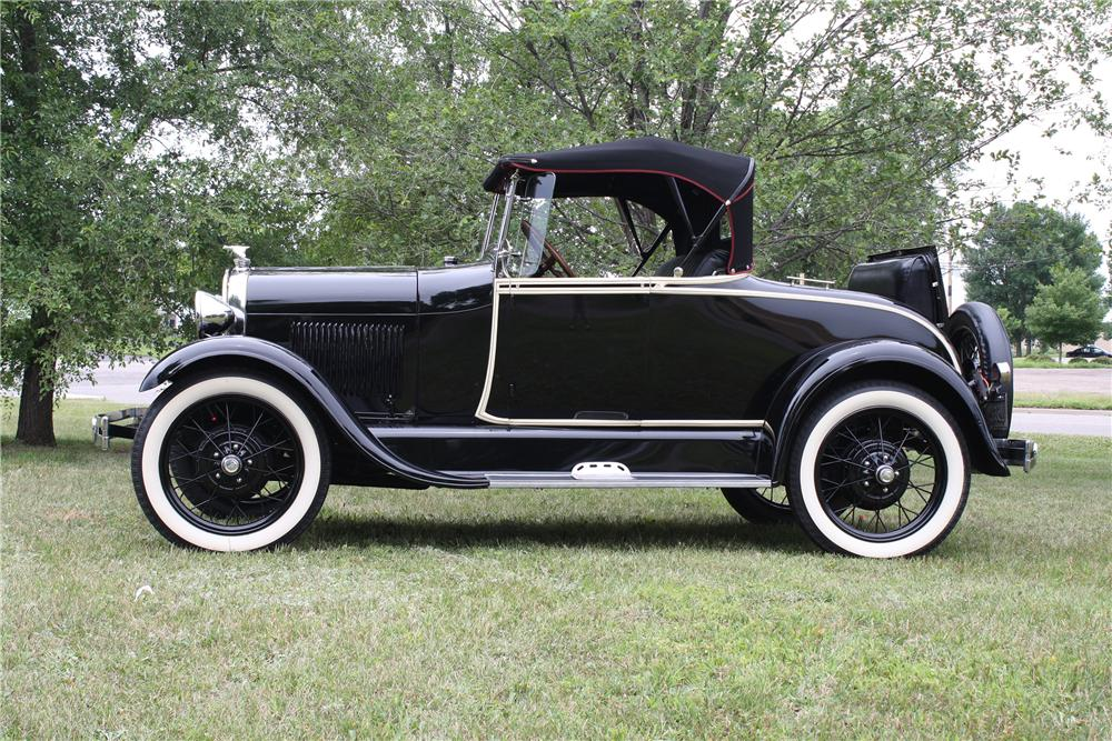 1928 Ford Model A Roadster 154096