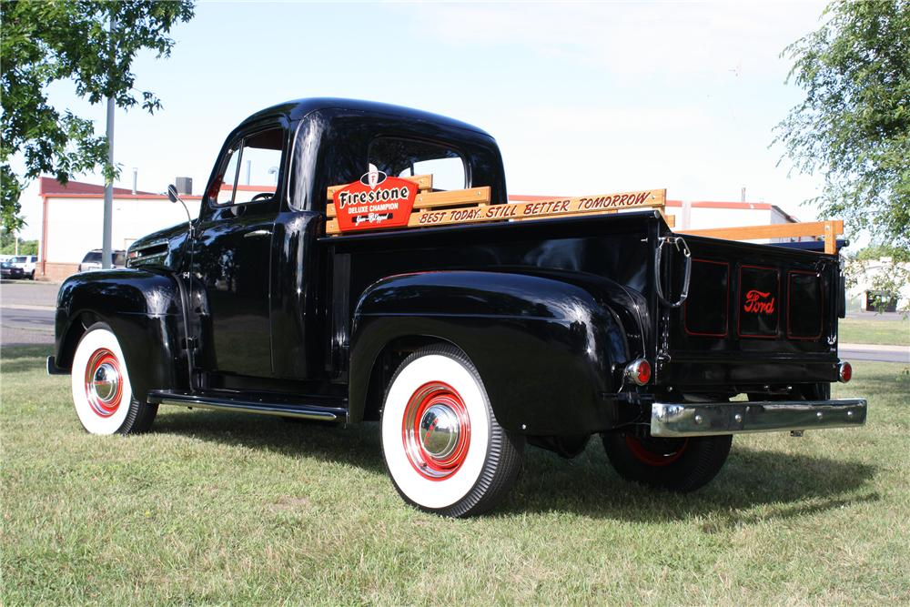 1950 FORD F-1 PICKUP - Rear 3/4 - 154099