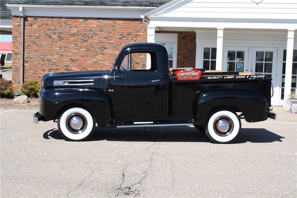 1950 FORD F-1 PICKUP - Side Profile - 154099