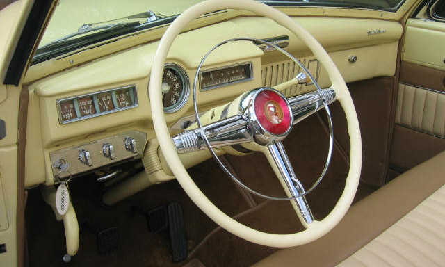 1950 DE SOTO CUSTOM CONVERTIBLE - Interior - 15412