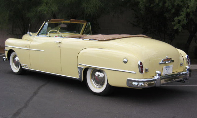 1950 DE SOTO CUSTOM CONVERTIBLE - Rear 3/4 - 15412