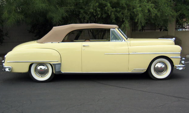 1950 DE SOTO CUSTOM CONVERTIBLE - Side Profile - 15412