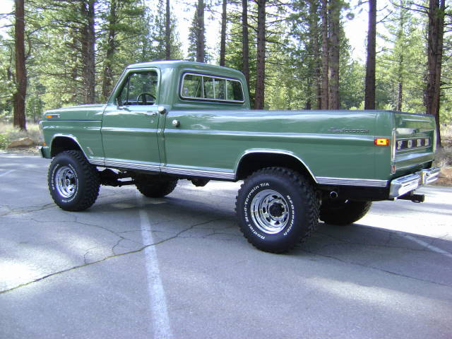 Custom F250 Trucks >> 1971 FORD F-250 4X4 PICKUP - 154124