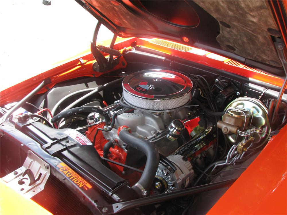 1969 CHEVROLET CAMARO YENKO RE-CREATION 2 DOOR COUPE - Engine - 154147
