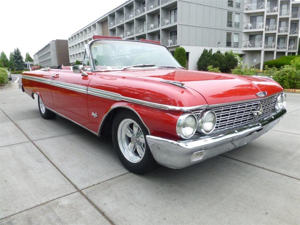 1962 Ford Galaxie Sunliner Convertible 154156