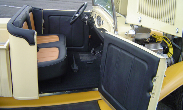 1932 FORD STREET ROD PICKUP - Interior - 15416