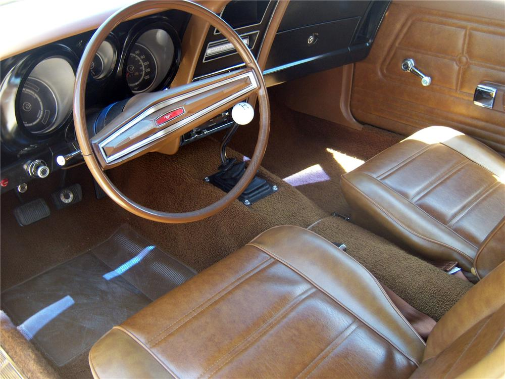 1972 FORD MUSTANG MACH 1 FASTBACK - Interior - 154168