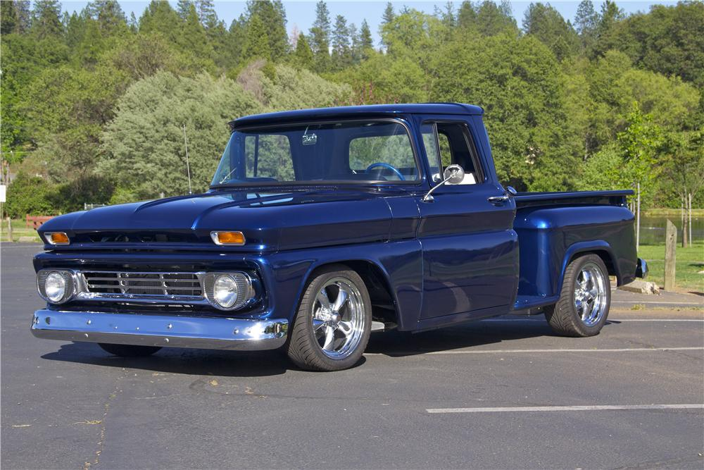 1962 CHEVROLET C-10 CUSTOM PICKUP154186
