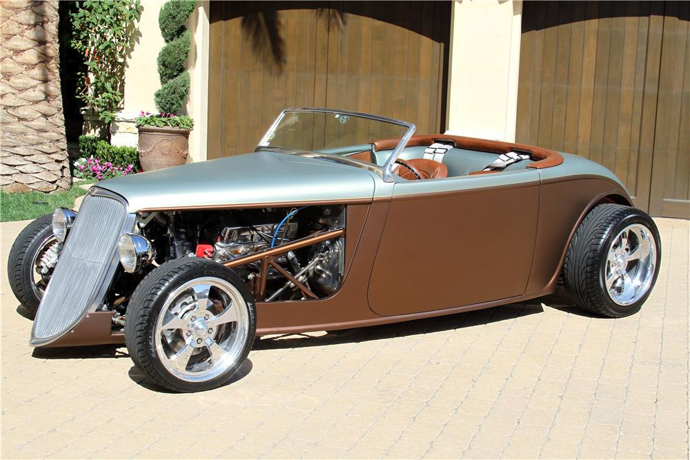 1933 FACTORY FIVE CUSTOM ROADSTER - Front 3/4 - 154187