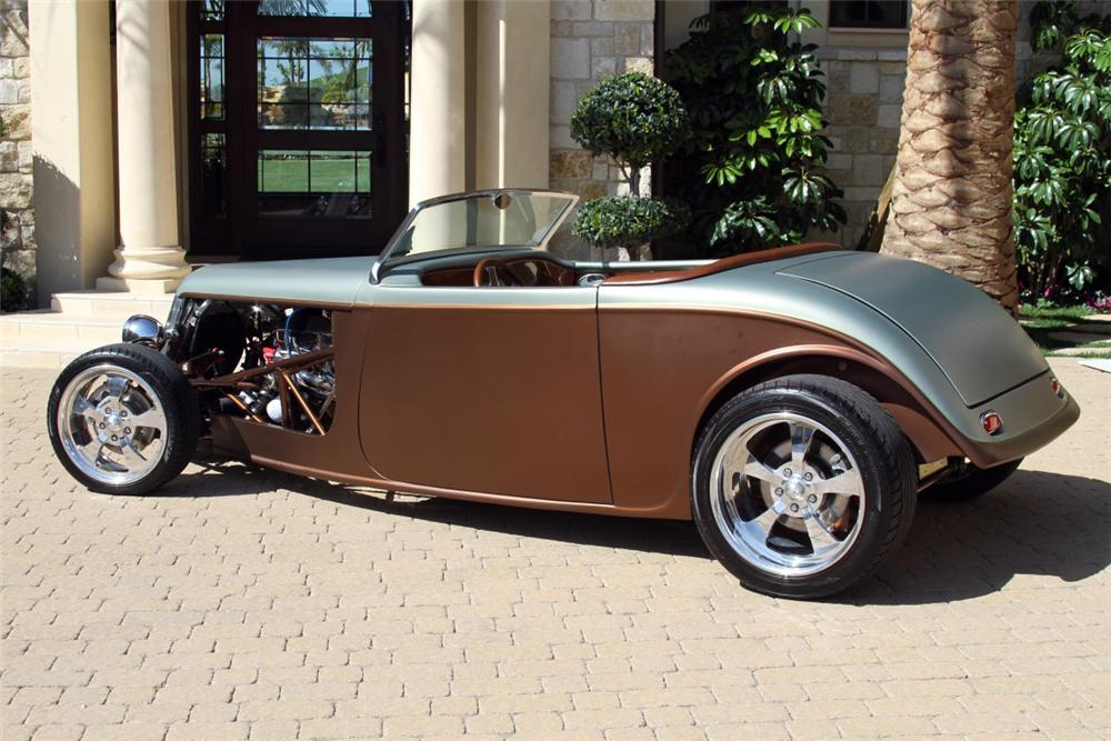 1933 FACTORY FIVE CUSTOM ROADSTER - Side Profile - 154187