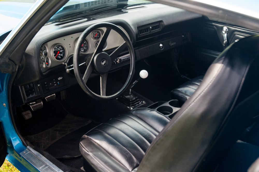 1970 CHEVROLET CAMARO 2 DOOR COUPE - Interior - 154192