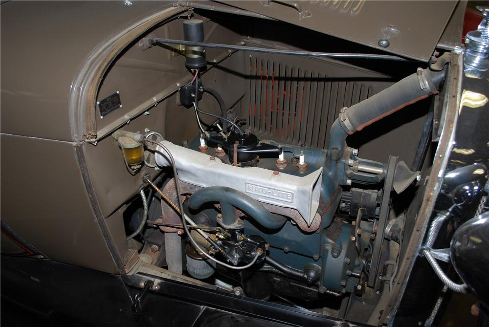 1928 FORD MODEL A ROADSTER - Engine - 154195