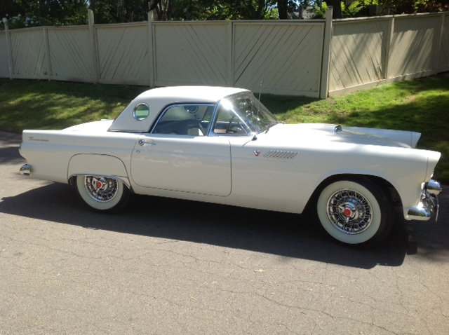 1955 FORD THUNDERBIRD CONVERTIBLE - Side Profile - 154198