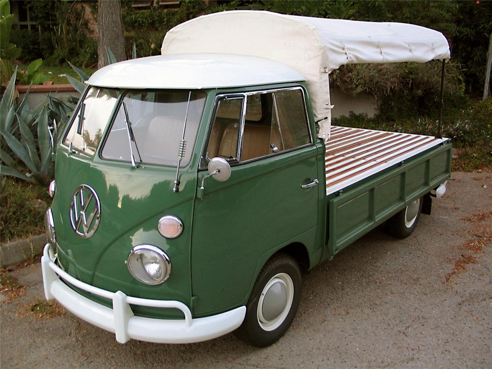 1965 volkswagen single cab pickup 15421. Black Bedroom Furniture Sets. Home Design Ideas