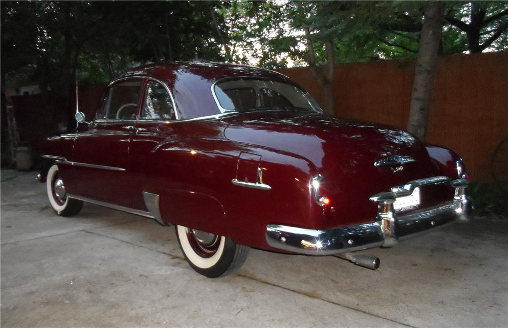 1951 CHEVROLET DELUXE 2 DOOR COUPE - Rear 3/4 - 154216