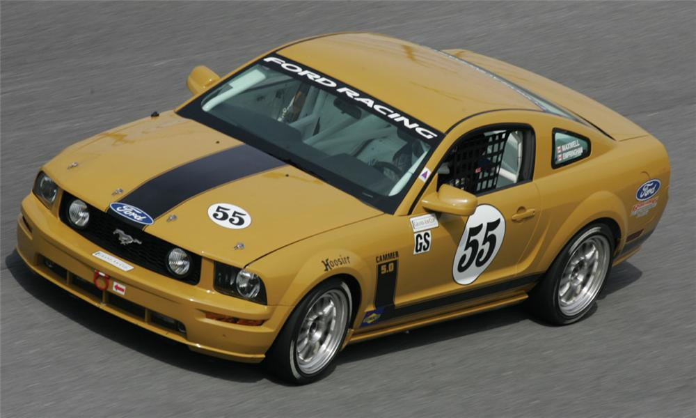 2005 FORD MUSTANG FR500C #55 RACE CAR - Front 3/4 - 15423