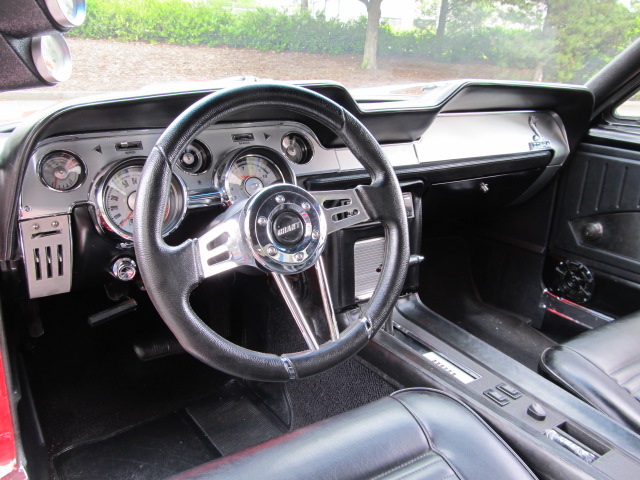 1967 ford mustang custom 2 door coupe interior 154234