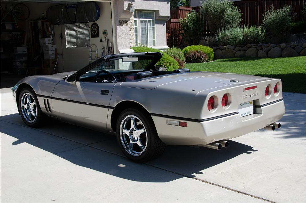 1986 Chevrolet Corvette Convertible 154235