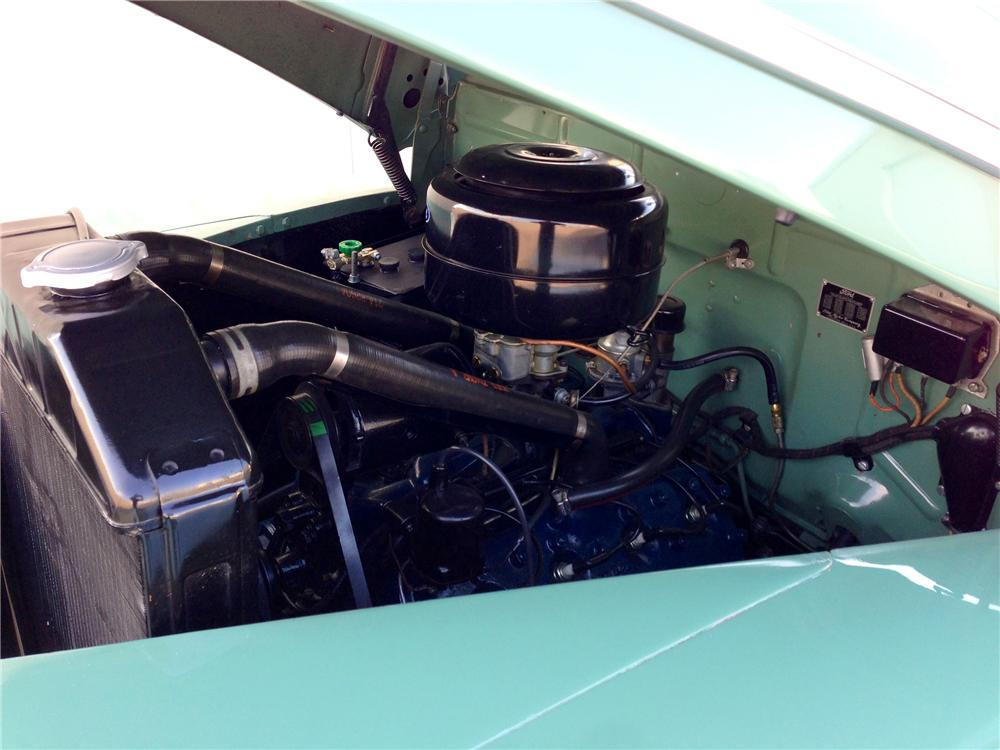 1942 FORD SUPER DELUXE CONVERTIBLE - Engine - 154245