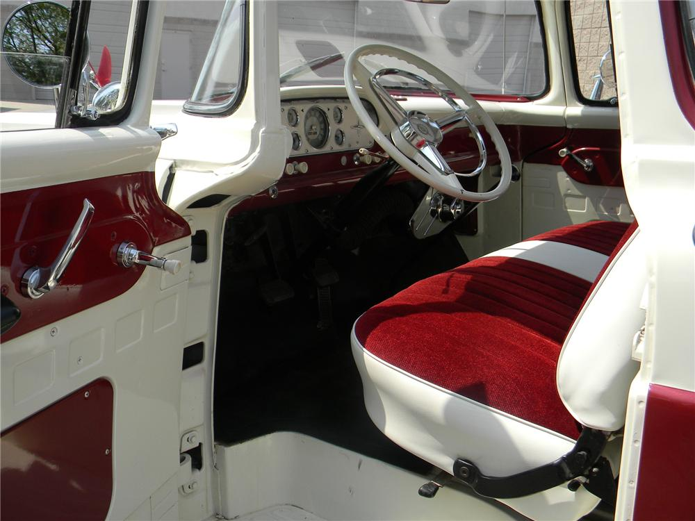 1960 FORD F-100 PICKUP - Interior - 154271