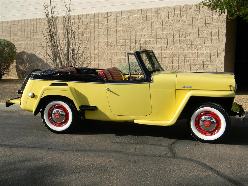 1949 WILLYS JEEPSTER CONVERTIBLE - Side Profile - 154272