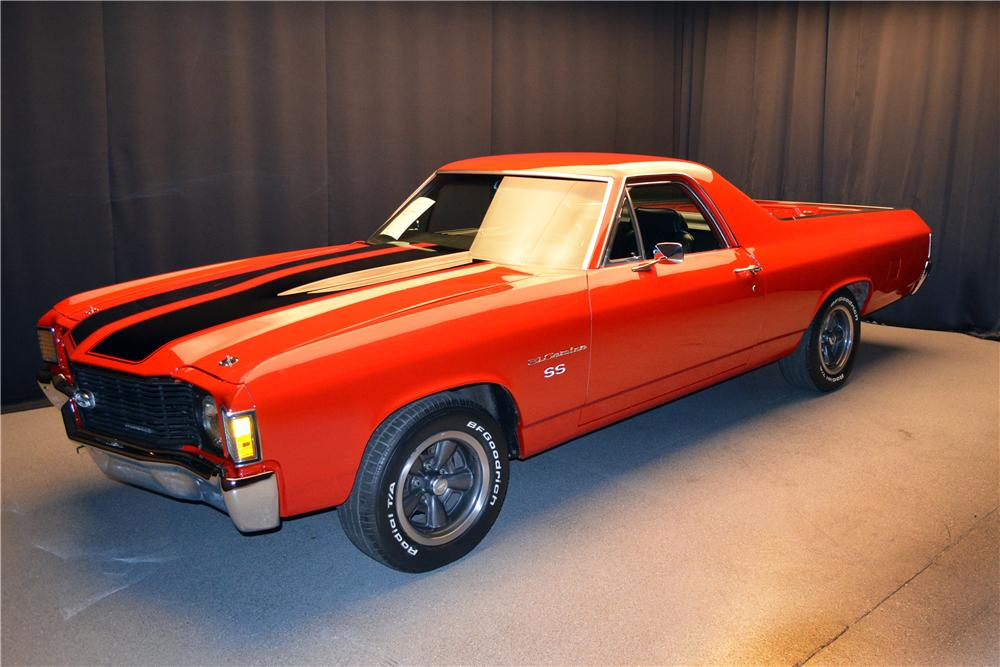 1972 el camino specifications