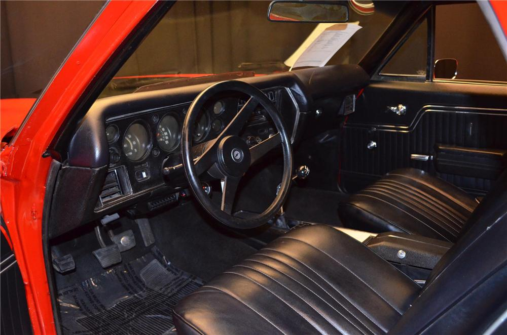 1972 CHEVROLET EL CAMINO PICKUP - Interior - 154290