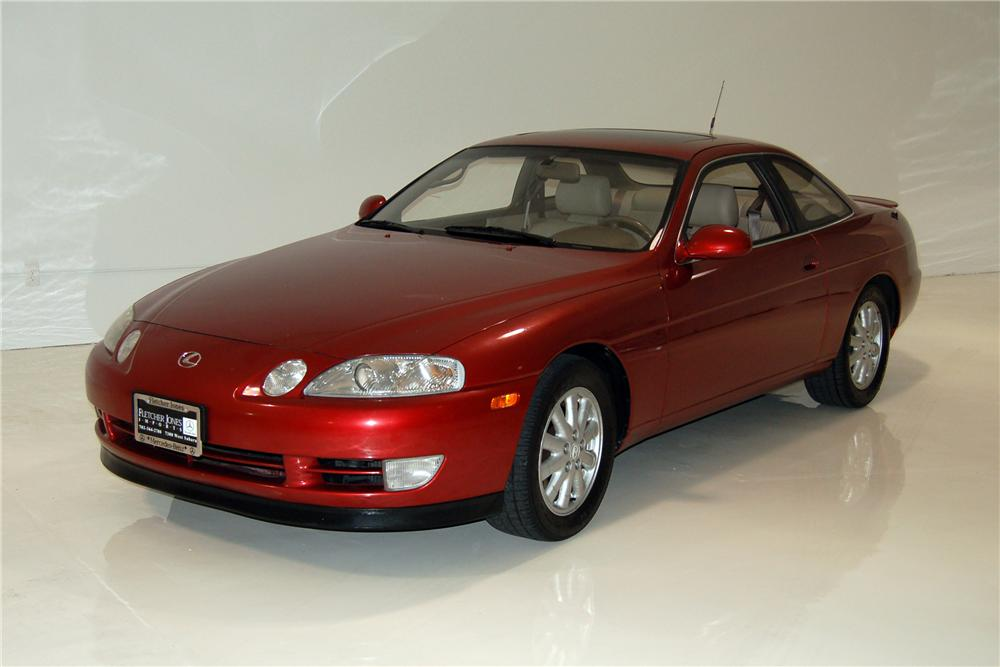 1992 LEXUS SC400 2 DOOR COUPE   Front 3/4   154319 ...