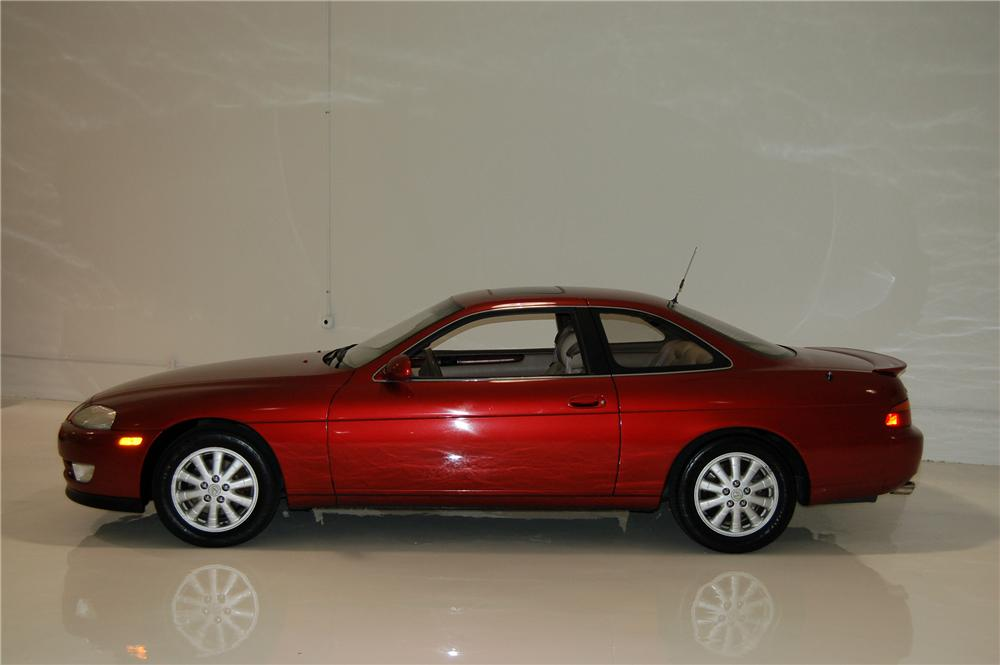 ... 1992 LEXUS SC400 2 DOOR COUPE   Side Profile   154319