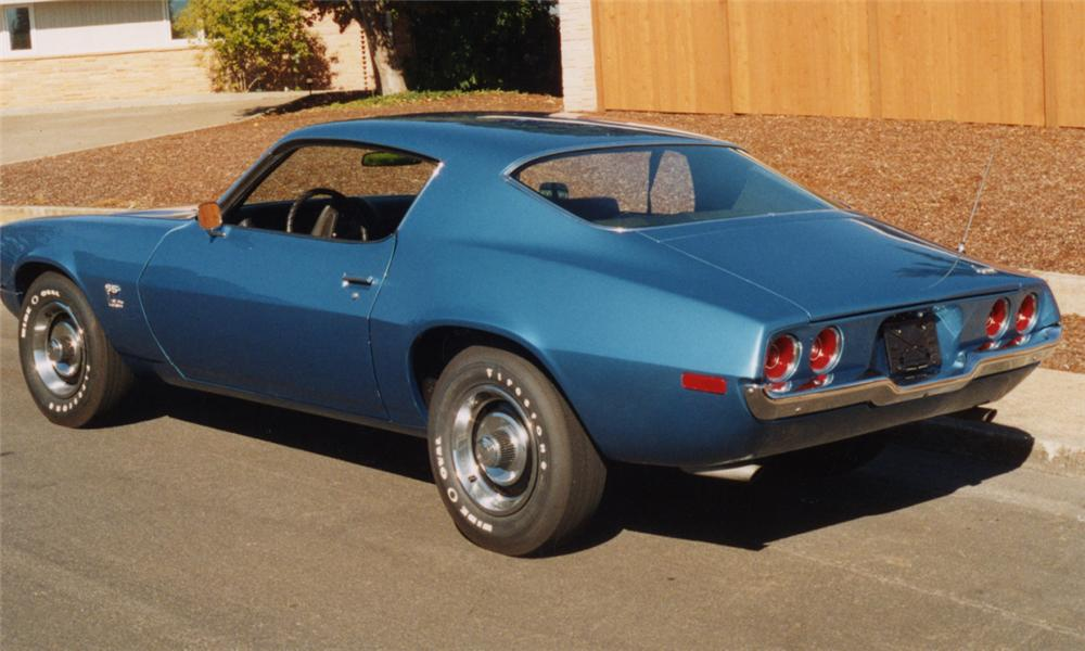 1970 CHEVROLET CAMARO SS COUPE - Rear 3/4 - 15433