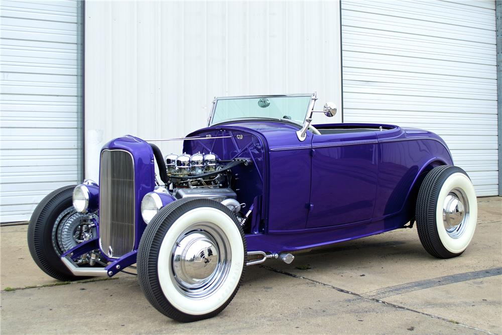 1932 FORD CUSTOM ROADSTER - 154332