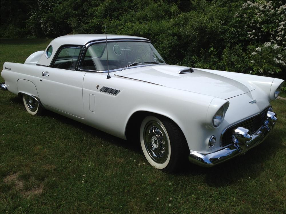 1956 FORD THUNDERBIRD CONVERTIBLE - Front 3/4 - 154340