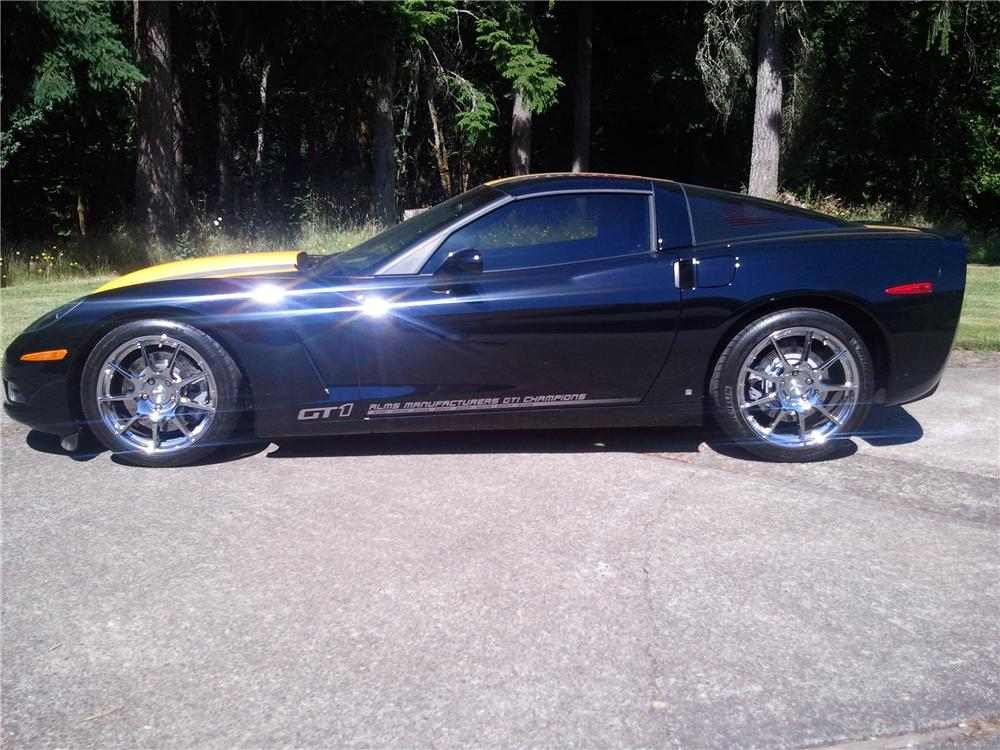 2009 chevrolet corvette gt1 special edition coupe 154366. Black Bedroom Furniture Sets. Home Design Ideas