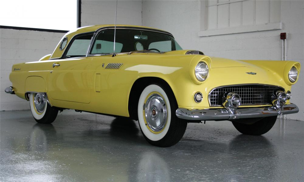 1956 FORD THUNDERBIRD CONVERTIBLE - Front 3/4 - 15437