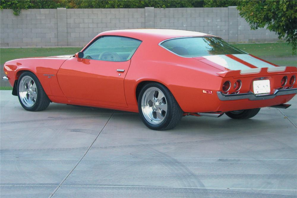 1972 CHEVROLET CAMARO RS CUSTOM COUPE - 15440