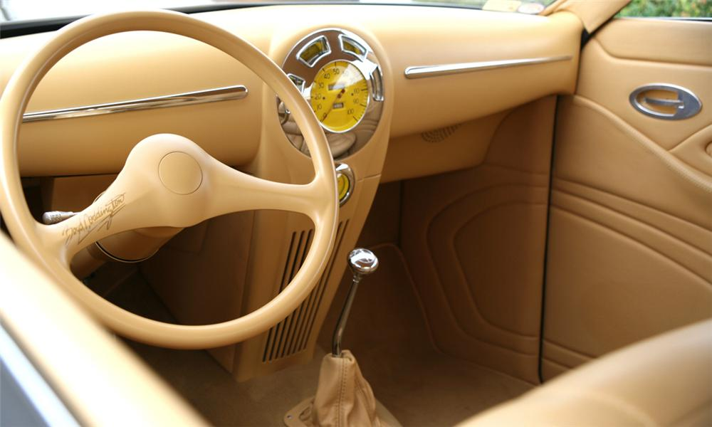 "1939 LINCOLN ZEPHYR CUSTOM ""LEAD ZEPHYR"" - Interior - 15441"