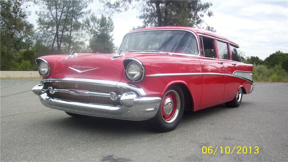 1957 chevrolet 210 custom 4 door station wagon 154443 for 1957 chevy 4 door wagon for sale