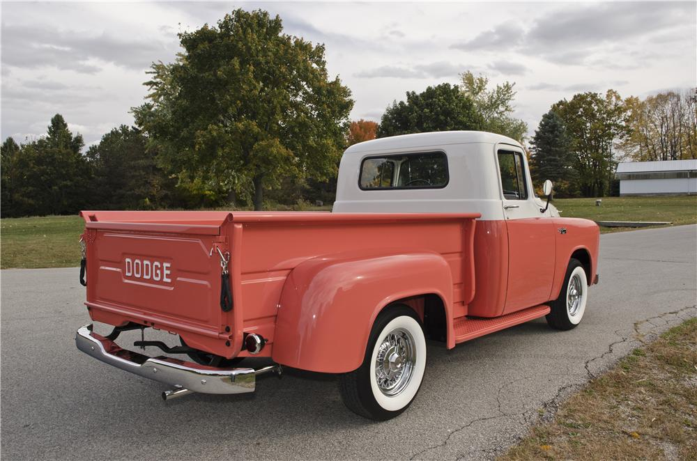 1955 DODGE C-3B PICKUP - Rear 3/4 - 154449