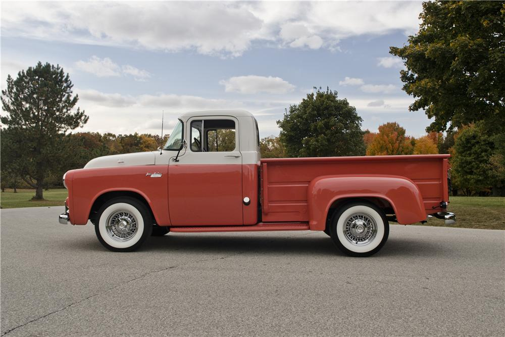 1955 DODGE C-3B PICKUP - Side Profile - 154449