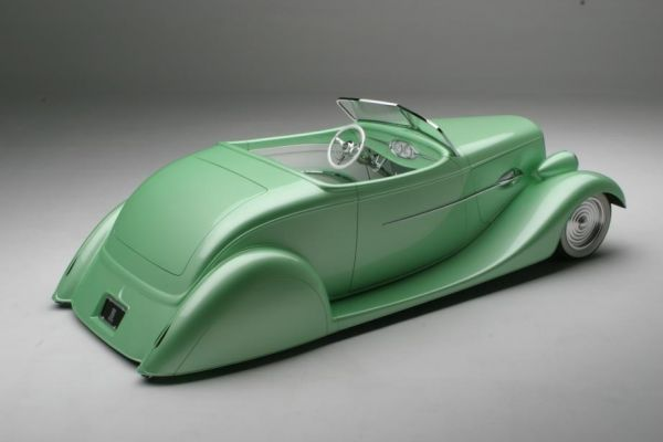 1934 FORD CUSTOM ROADSTER - Front 3/4 - 154457