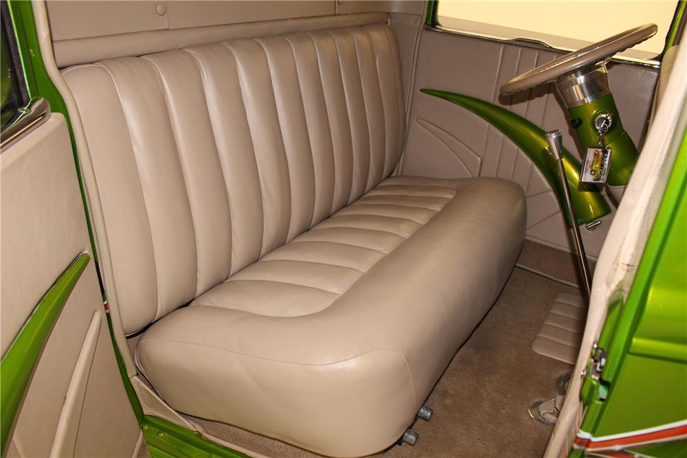 1930 FORD MODEL A CUSTOM PICKUP - Interior - 154467